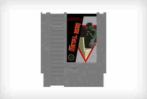ink whiskey nintendo flask metal gear