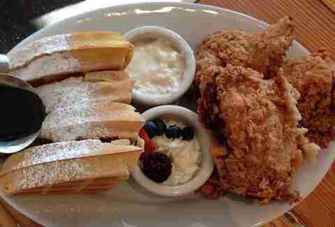 Oddfellows Best Fried Chicken Dallas