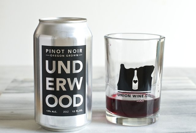 Portland winery is too hip for bottles, releases Pinot noir in beer cans