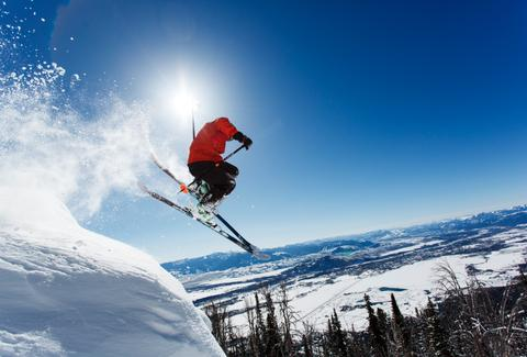 Jackson Hole Mountain Resort extreme skiing