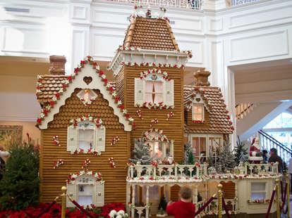 Disney World Grand Floridian Resort gingerbread house