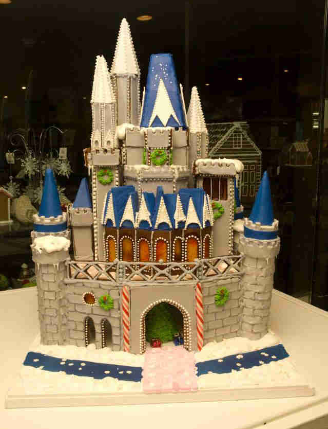 gingerbread houses castle eastman george disney amazing actual nicer than cakes tall crazy thrillist cake