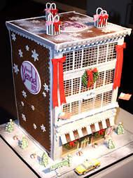 Sweet Lisa's Bendel store gingerbread house