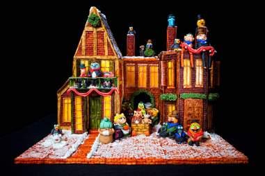 Omni Grove Park Inn Muppets gingerbread house