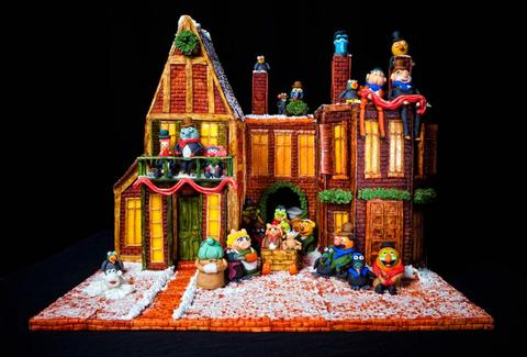 Omni Grove Park Inn Muppets gingerbread house