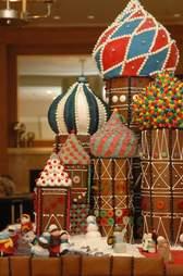 Sheraton Seattle Russian gingerbread house