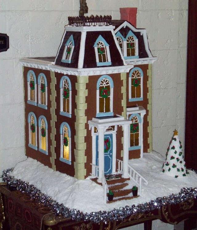 St. Regis Hotel gingerbread house