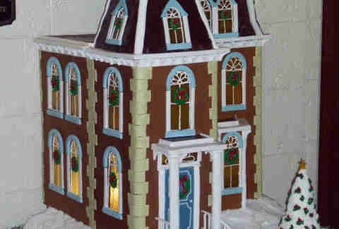 St. Regis Hotel gingerbread house