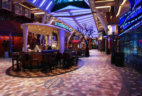 Starbucks on Allure of the Seas