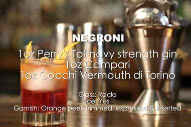 negroni ingredients list