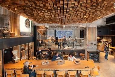 Amsterdam Starbucks Vault