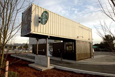 Reclaimed Starbucks
