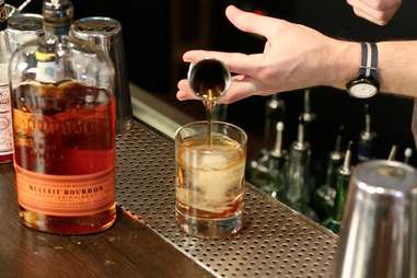 old fashioned bourbon whiskey