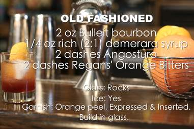 old fashioned ingredients list