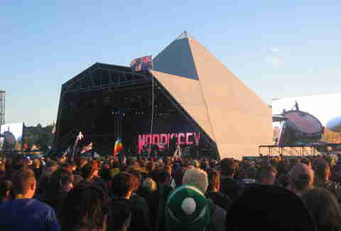 Glastonbury stage