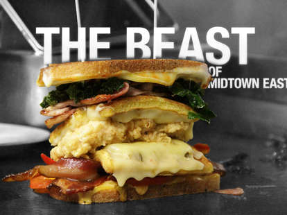 The Beast of Midtown East - Crazy Sandwiches NYC - Pullman Kitchen