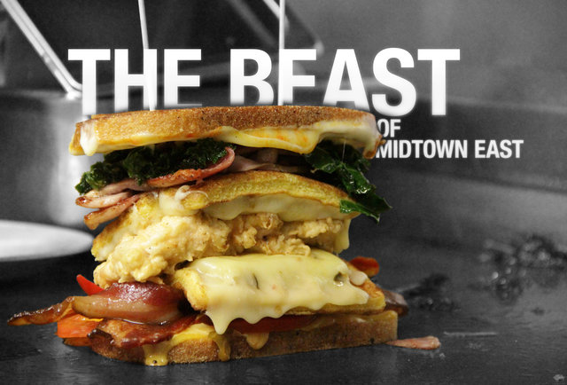 This is the most impressive sandwich in Midtown