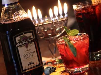 Manischewitz cocktails
