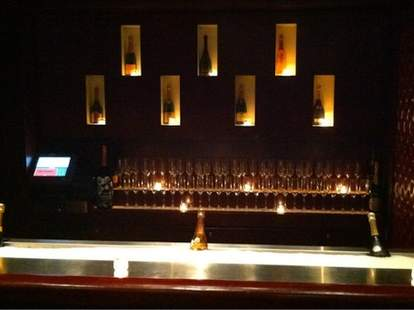 Champagne Lounge at RumBa Boston