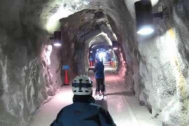 The Peruvian Tunnel at Snowbird