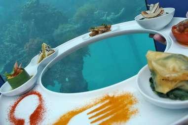 Ithaa Undersea food