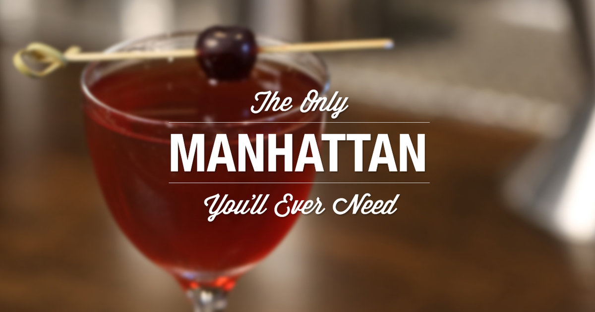 How to make The Only Manhattan You'll Ever Need