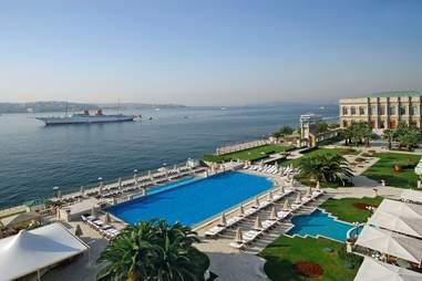 Ç?ra?an Palace Kempinski Istanbul, pool