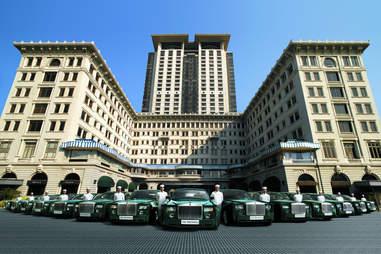 The Peninsula Hong Kong, rolls Royces