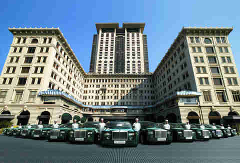 The Peninsula Hong Kong, rolls Royces