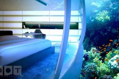 Hydropolis rendering, bedroom