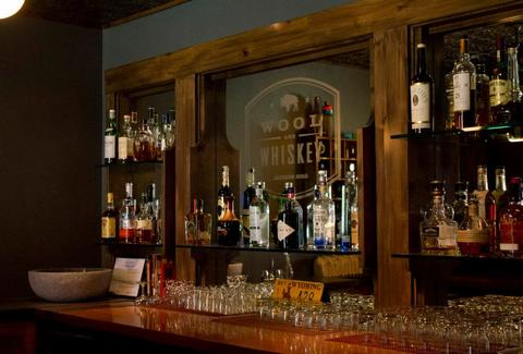 wool and whiskey bar