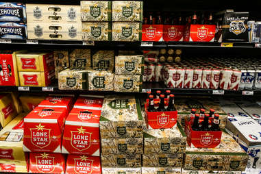 Lone Star in the store