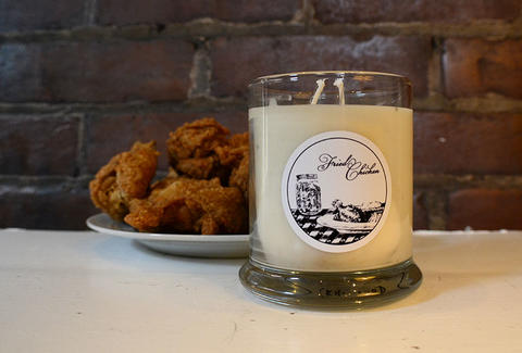 fried chicken candle