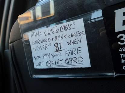 cab signs