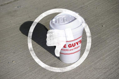Five Guys coffee