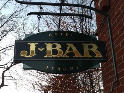 j-bar sign