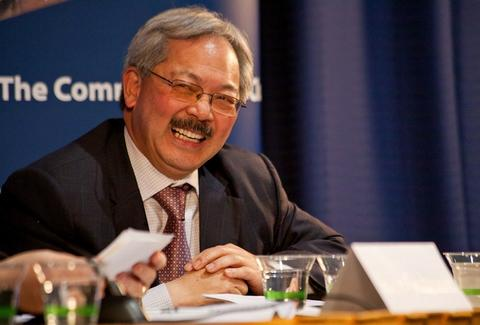 SF Mayor Ed Lee