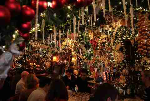 Rolfs Christmas Bar Nyc.This Is How You Do Rolf S This Christmas In Nyc Thrillist