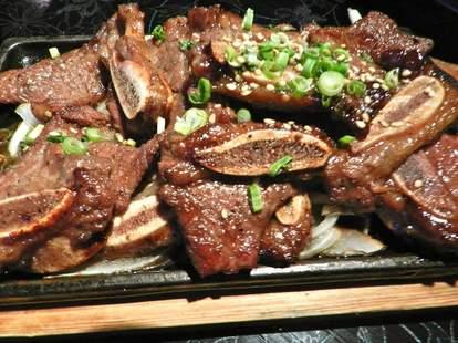 marinated ribs