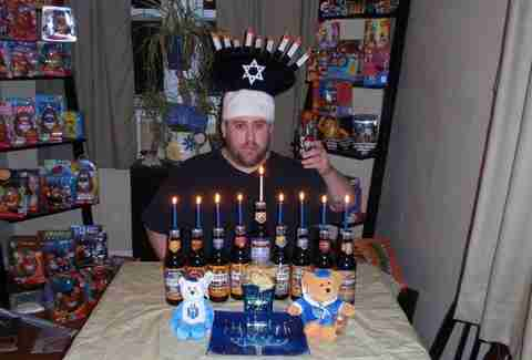 He'Brew menorah contest