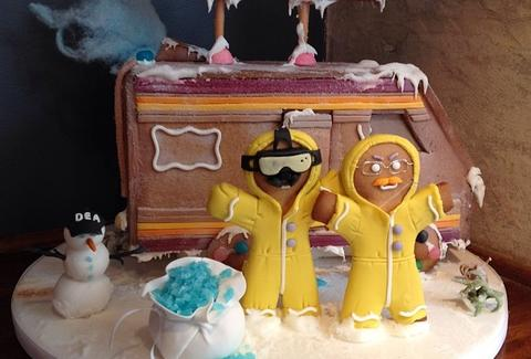 Breaking Bad gingerbread meth lab