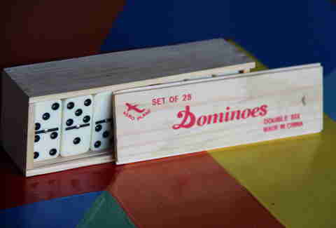 Dominoes at Garage