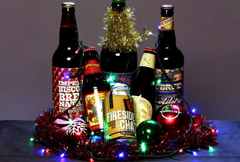holiday beer six pack