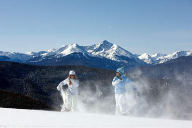 Vail snowshoe -- Chris McLennan, Vail Resorts