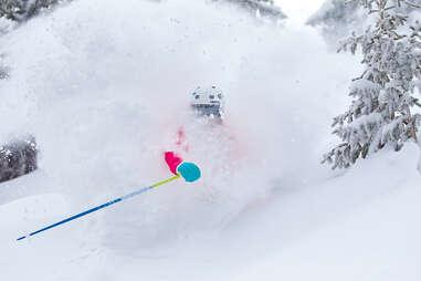 Northwoods powder skiing