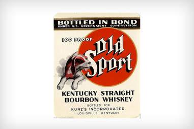 Old Sport label
