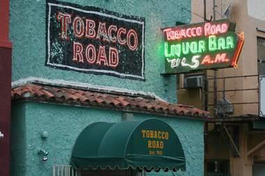 tobacco road exterior