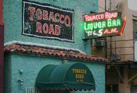 tobacco road exterior
