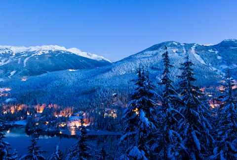 Whistler Dual Mountain Michael Crane Tourism