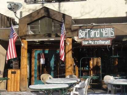 Awning of bart & yeti's